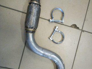 Приемная труба на ситроен берлинго, с4; пежо 5008, партнер, 307, 308.
