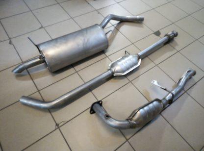 Выхлопная система на Рено Меган-Renault Megane 1,6-2,0 8-клапанов бензин 1995-2002