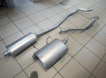 Выхлопная система на Пежо 406 1,6-1,8 бензин