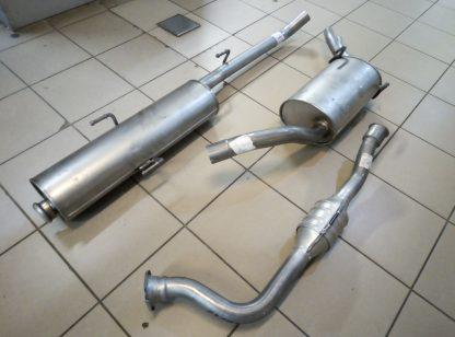 Выхлопная система на Ситроен Эвазион-Citroen Evasion, Пежо 806-Peugeot 806, Фиат Улис-Fiat Ulysse 2,0HDI 1995-2002