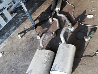 Ниссан Премьера 1,9-2,2 DTI установка нового глушителя и резонатора