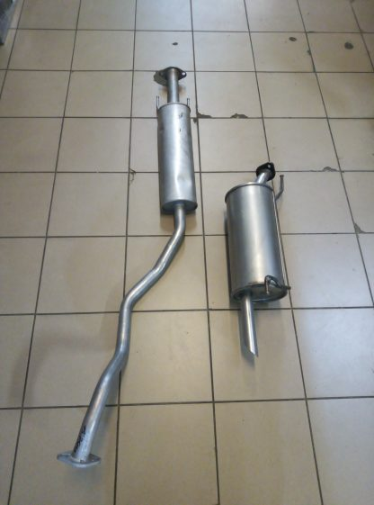 Выхлопная система на Ниссан Жук-Nissan JUKE 1,6 бензин.