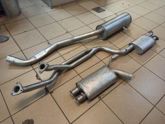 Выхлопная система на BMW E34 2.0 бензин 1990-1997